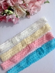 Frilly stretch headband. x1